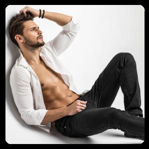 Männer - Brust & Bauch