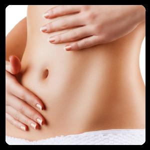 Frau - Brust & Bauch