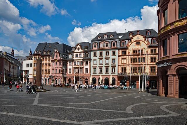 Marktplatz in Mainz