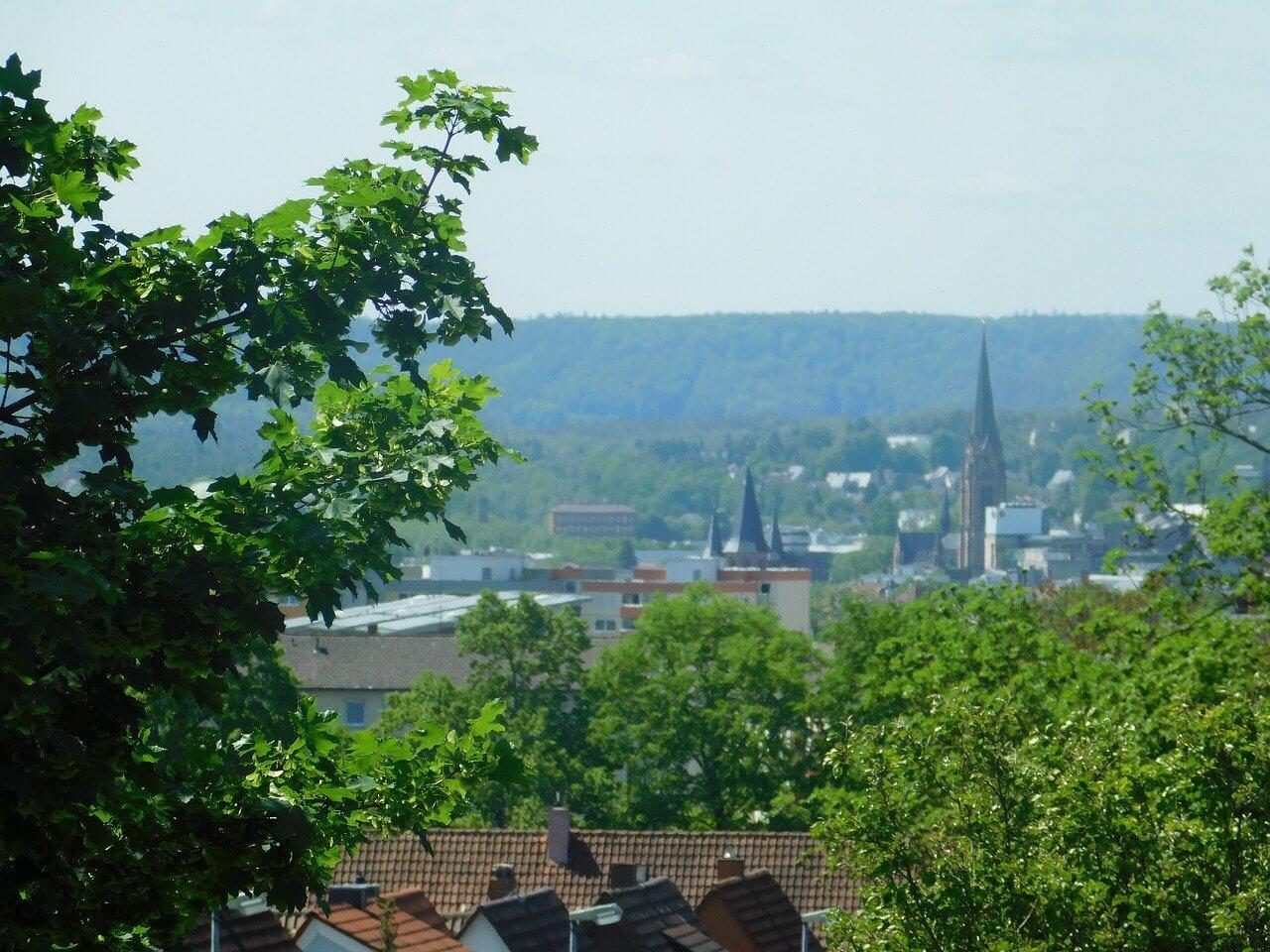 Blick über Kaiserslautern